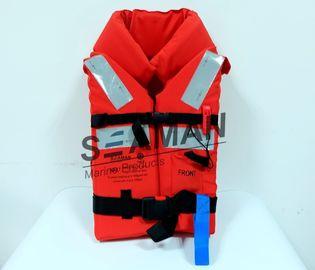 Спасательный жилет морского взрослого спасательного жилета пены 150Н ткани ЭПЭ Оксфорда полиэстера оффшорный