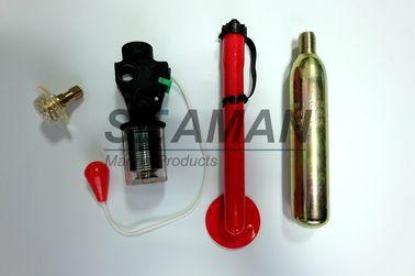 Re - подготовляя зажим пробки основания клапана вспомогательного оборудования спасательного жилета автоматического прибора набора устный