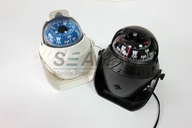Пластичный морской морской компас шлюпки с белым/чернотой СИД светлое